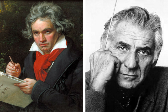 Beethoven and Bernstein