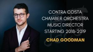 New Music Director Chad Goodman Announcement