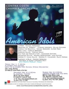 May 2018 CCCO Concert Flyer American Idols